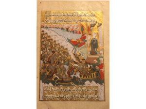 Illustration de la bataille de Badr
