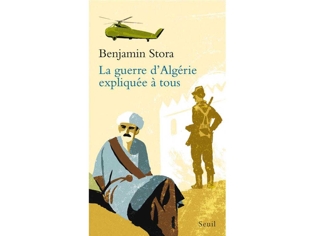 Page de couverture de l'ouvrage de Benjamin Stora sur la guerre d'Algérie