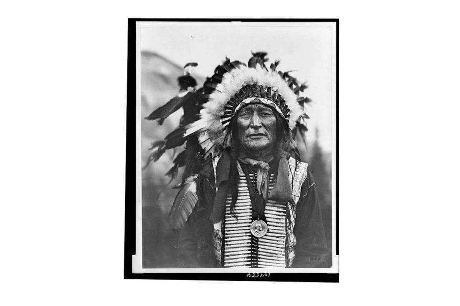 portarait du chef sioux Lakota