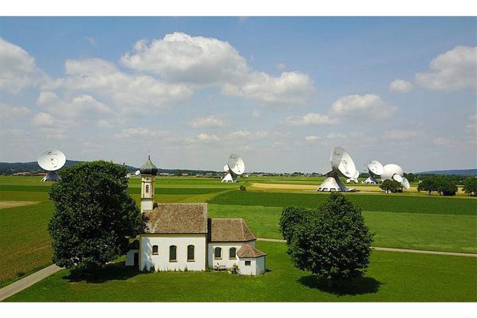 quatre radars en pleine campagne