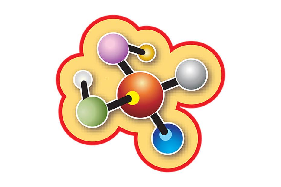 représentation d'une molécule