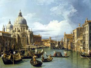 Panorama de Venise par le peintre vénitien Canaletto