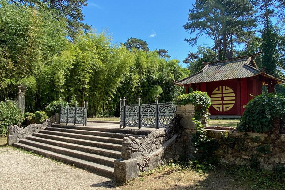 Temple du souvenir indochinois, esplanade du Dinh, Jardin d'agronomie tropicale de Paris